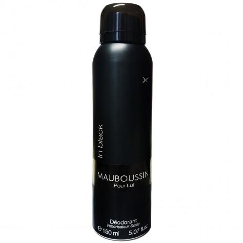 Mauboussin Pour Lui In Black Déodorant Spray Hommes