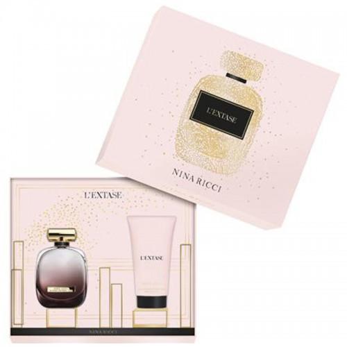 Nina Ricci Coffret L'extase Eau de Parfum 80ml Lotion Sensuelle pour le Corps 100ml