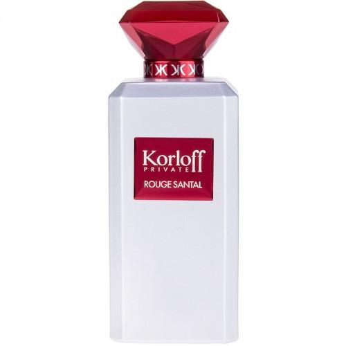 Korloff Private Rouge Santal Eau De Toilette Hommes