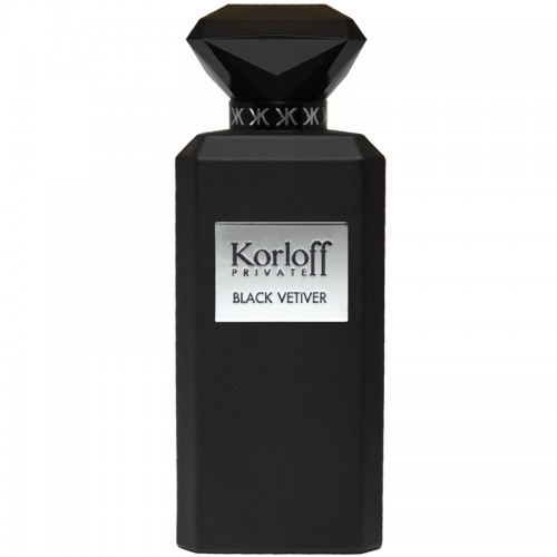 Korloff Private Black Vetiver Eau De Toilette Hommes
