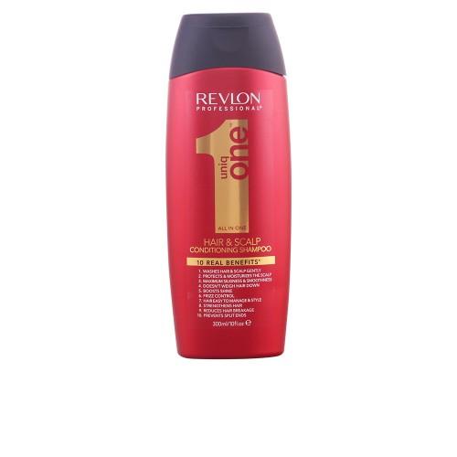 Revlon Uniq One All In One Hair+Scalp Conditioning Shampoo 300Ml Femmes