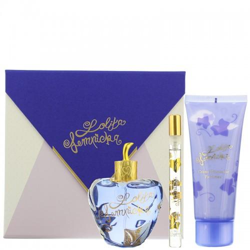 Coffret Lolita Lempicka Eau De Parfum 100ml + Creme Onctueuse Parfumée 100ml + Mini Edp 7ml Femmes