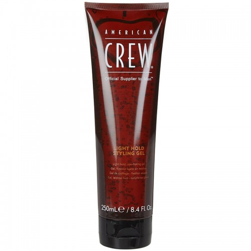 American Crew Classic Light Hold Styling Gel Coiffant Fixation Légère 250Ml Hommes