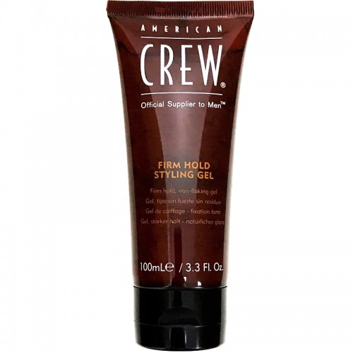 American Crew Classic Firm Hold Styling Gel Tenue Forte 100Ml Hommes