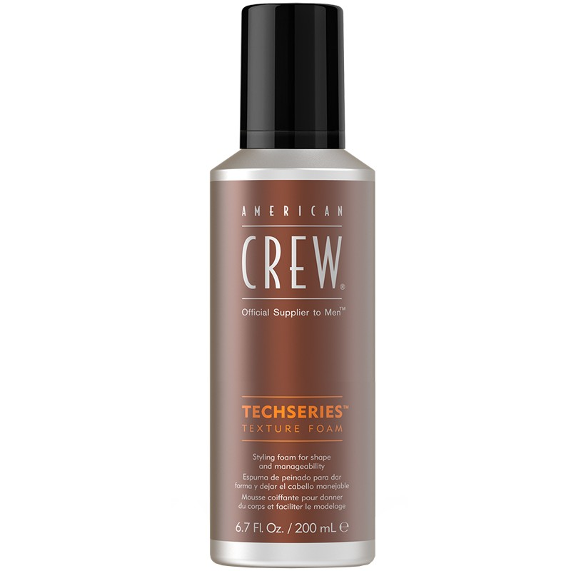 AMERICAN CREW TECHSERIES TEXTURE MOUSSE 200ML