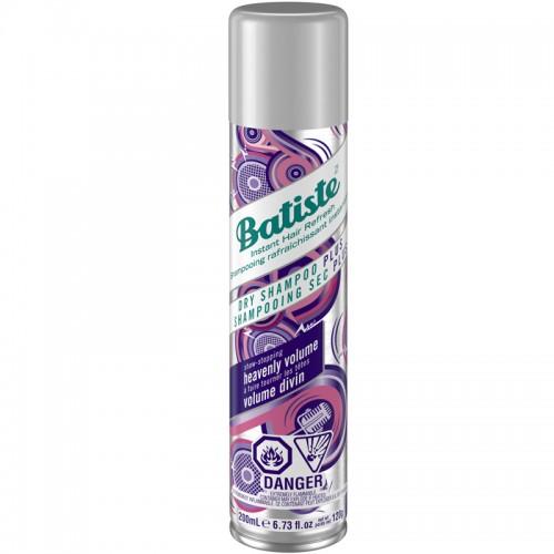 Batiste Shampooing Sec Plus Volume Divin 200Ml Femmes