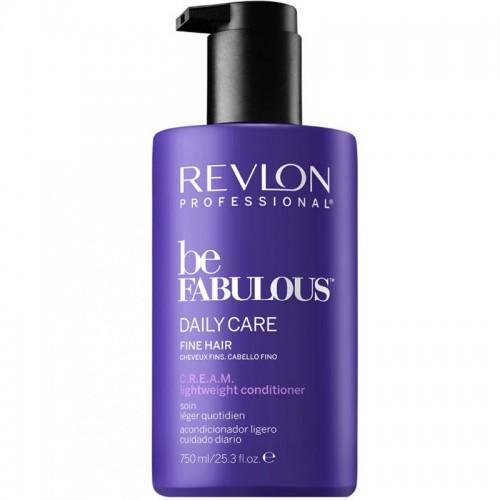 Revlon Be Fabulous Apres Shampooing Leger Quotidien C.R.E.A.M Cheveux Fins 750Ml Femmes