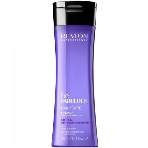 Revlon Be Fabulous Apres Shampooing Leger Quotidien C.R.E.A.M Cheveux Fins 250Ml Femmes