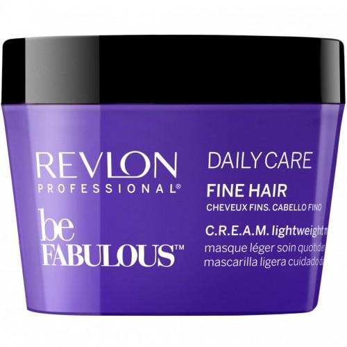 Revlon Be Fabulous Cheveux Fins C.R.E.A.M Masque Leger Quotidien 200Ml Femmes