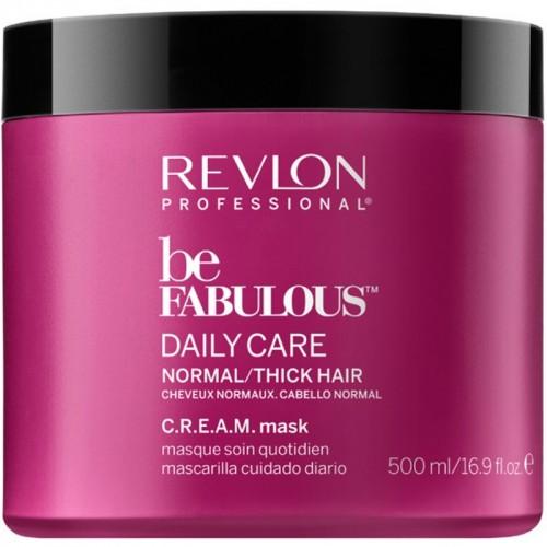 Revlon Be Fabulous Masque Quotidien Cheveux Normaux C.R.E.A.M 500Ml Femmes