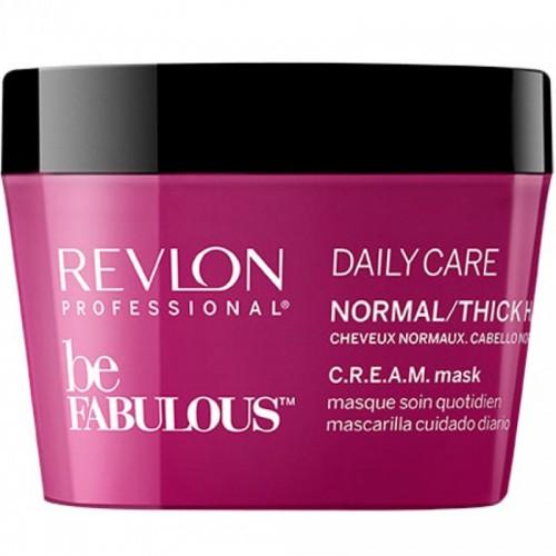 Revlon Be Fabulous Masque Quotidien Cheveux Normaux C.R.E.A.M 200Ml Femmes