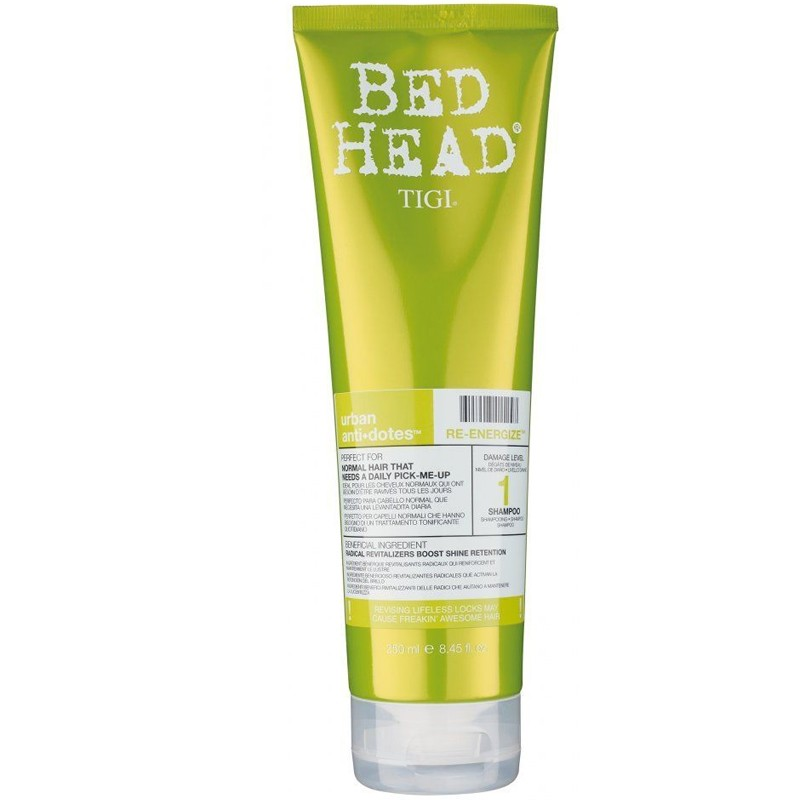 Tigi Bed Head Shampooing Re-energize 250ml