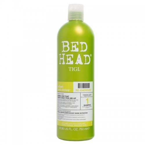 Bed Head Tigi Urban Antidotes Re-Energize Shampooing 750Ml Femmes