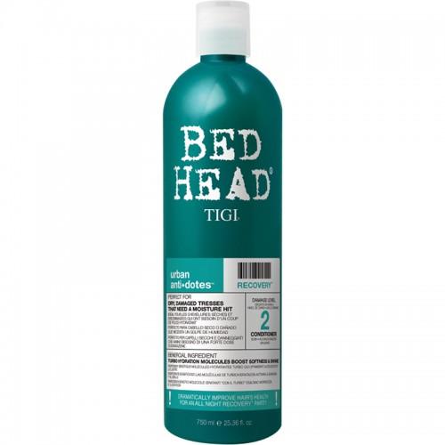 Bed Head Tigi Urban Antidotes Recovery Après Shampooing Réparateur 750Ml Femmes