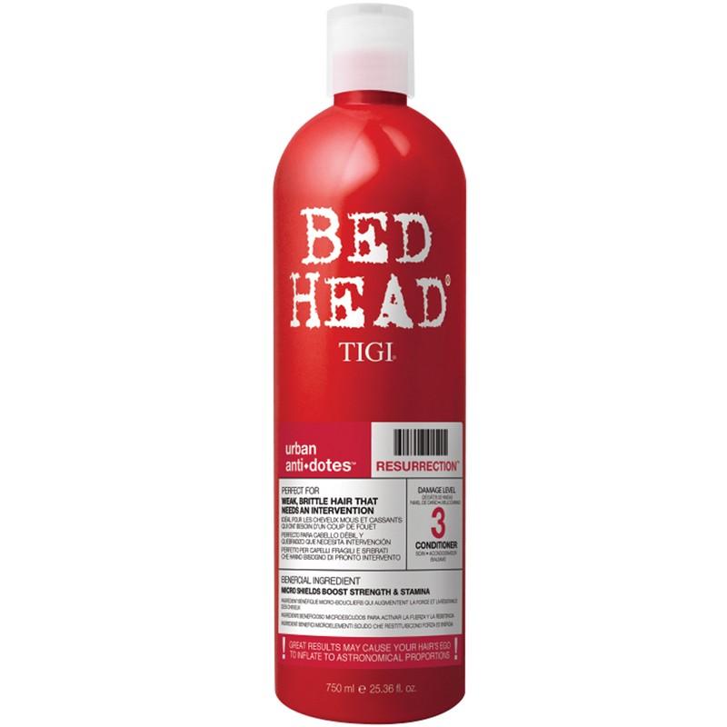 Bed Head Tigi Urban Antidotes Résurrection Après Shampooing Réparateur 750ml