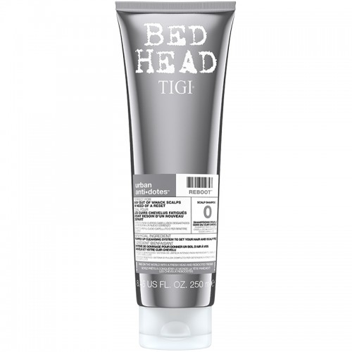 Bed Head Tigi Urban Antidotes Reboot Cuir Chevelu Shampooing 250Ml Femmes