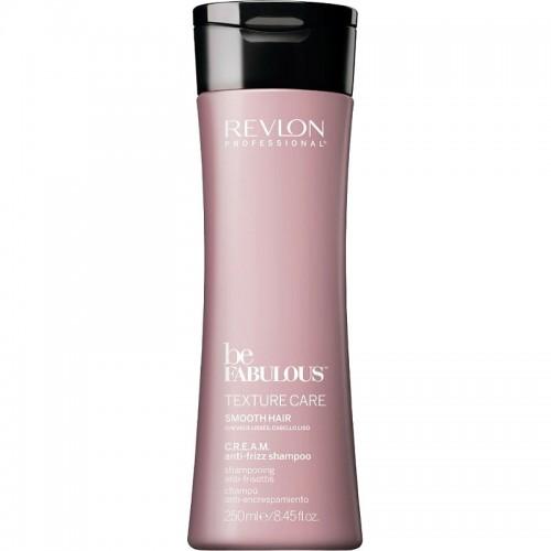 Revlon Be Fabulous Texture Care C.R.E.A.M. Lisse Shampooing 250Ml Femmes