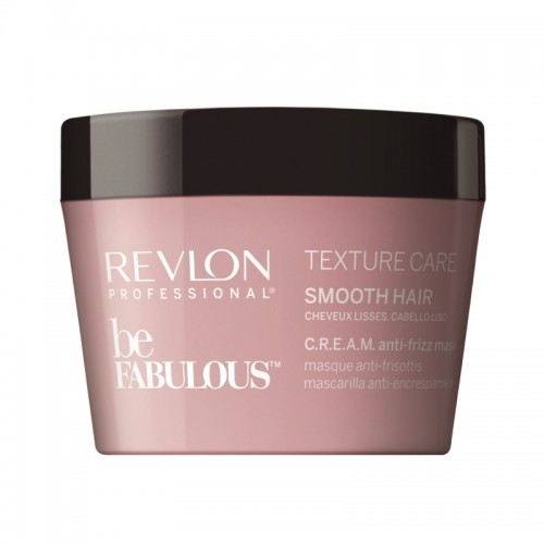 Revlon Be Fabulous Texture Care C.R.E.A.M. Cheveux Lisse Masque 200Ml Femmes