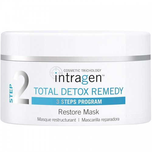 REVLON TOTAL DETOX REMEDY MASQUE RESTRUCTURANT INTRAGEN 200ml FEMMES