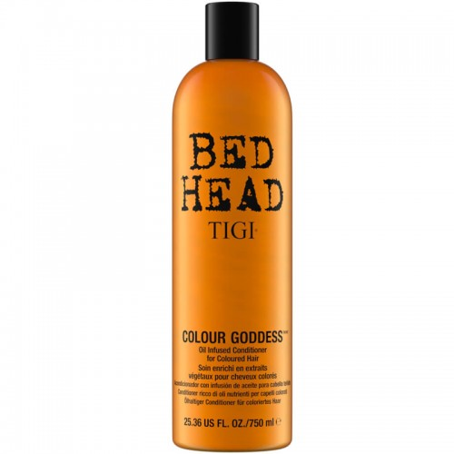 Bed Head Tigi Colour Goddess Oil Infused Aprè Shampooing Thérapie Pour Cheveux Colorés 750Ml Femmes