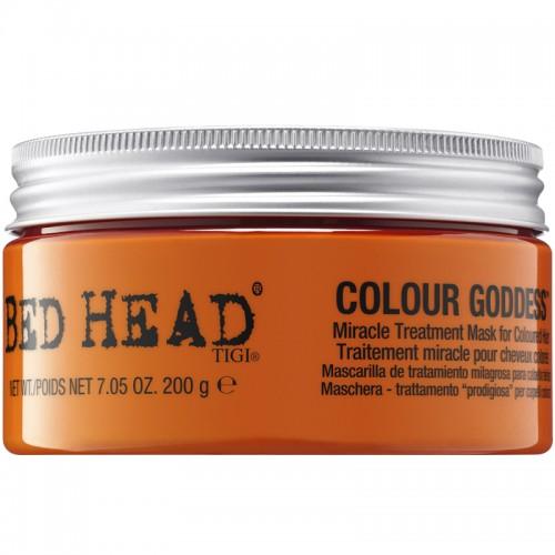 Bed Head Tigi Colour Goddess Miracle Treatment Masque Pour Cheveux Colorés 200G Femmes