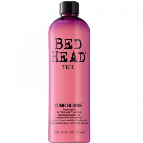 Bed Head Tigi Dumb Blonde Reconstructor Shampooing Thérapie Pour Cheveux Traités Chimiquement 750Ml Femmes