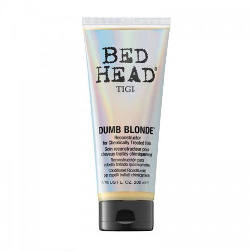 Bed Head Tigi Dumb Blonde Reconstructor Aprés Shampooing Thérapie Pour Cheveux Traités Chimiquement 200Ml Femmes