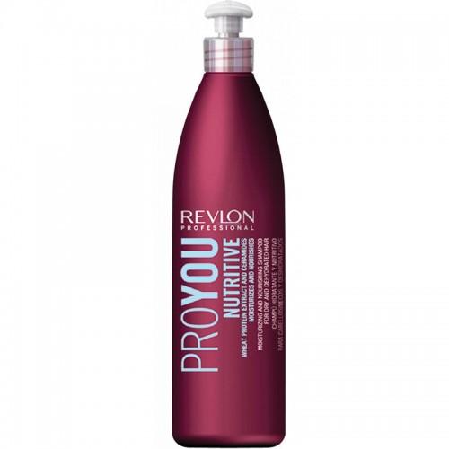 Revlon Pro You Nutritive Hydratant Cheveaux Secs Shampooing 350Ml Femmes