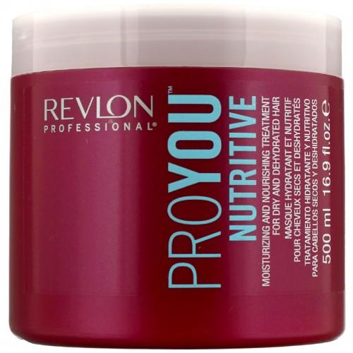 Revlon Pro You Nutritive Hydratant Cheveaux Secs Masque 500Ml Femmes