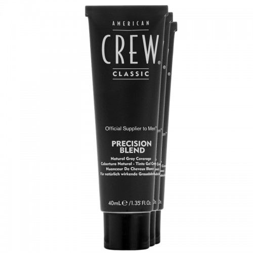 AMERICAN CREW PRECISION BLEND NUANCEUR DE CHEVEUX BLANCS LIGHT 7-8 3X40ml
