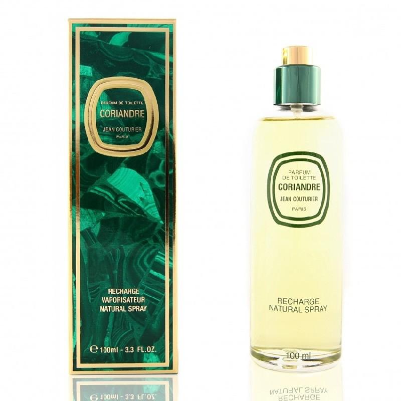 Jean Couturier Coriandre Recharge Parfum De Toilette Femmes 100ml