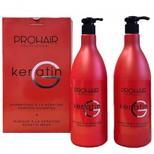 ProHair Coffret Keratin G shampoing et masque 1000ml