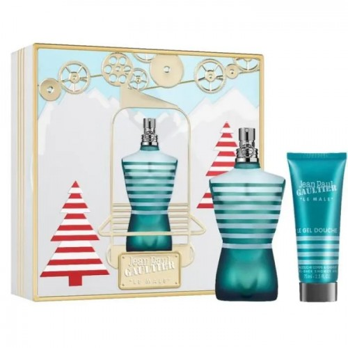 Coffret Jean Paul Gaultier Le Male Eau de Toilette 125ml et Gel Douche 75ml